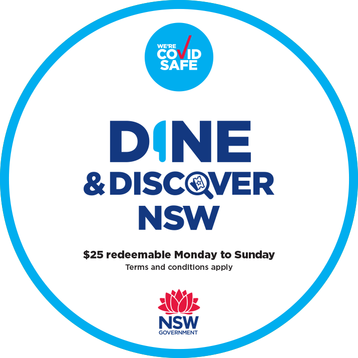 dine and discover accepted